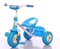 Fashionable model plastic baby bike three wheels tricycle kids ride on car with good quality and low price