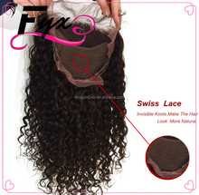 2017 Qingdao Hair Factory Price 8A Malaysian 8-24inch virgin human curly hair full lace wig Deep wave china wholesale