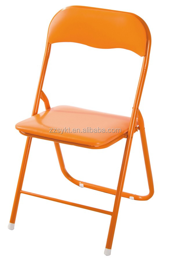 Beautiful Cheap Metal Folding Chairs With Pvc Seat And