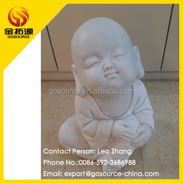 Marble Laughing baby buddha