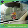 new design fruit scented little tree hanging paper car air freshener