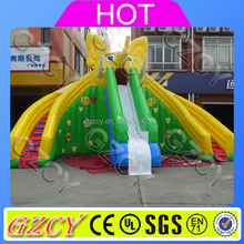 Kids Elephant inflatable slide, inflatable sliding games