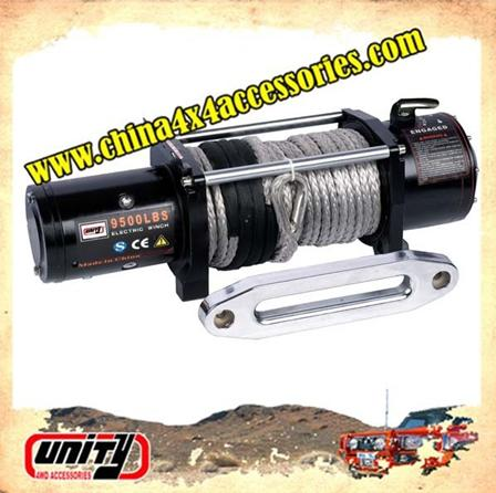 4X4 accessories 12000lb synthetic rope winch with CE approved