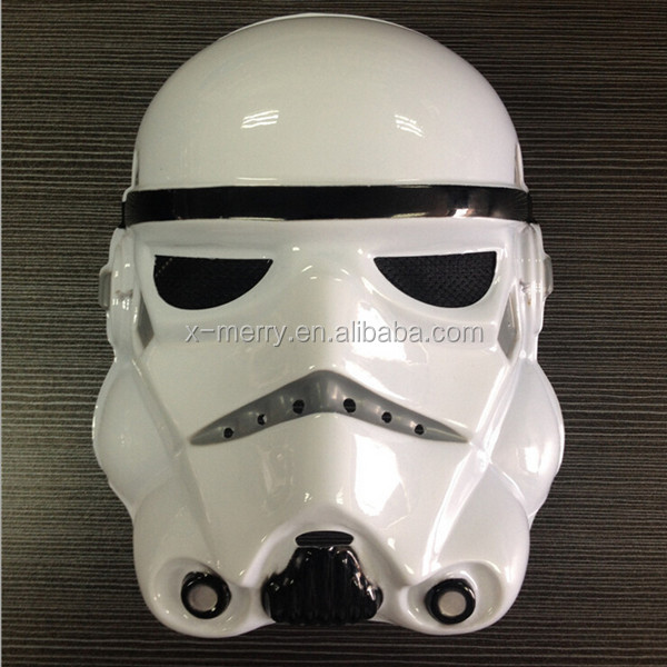 X-MERRY Clone Trooper Voice Changer Talking Helmet/ Plastic Mask Hollywood Hot 3d Movies