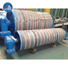 belt conveyor drive head tail pulleys