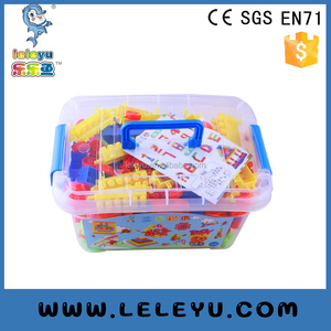 Creative DIY Plastic Enlighten Bricks Toy model For Preschool Children