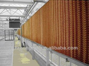 wet wall evaporative cooling systems and pads
