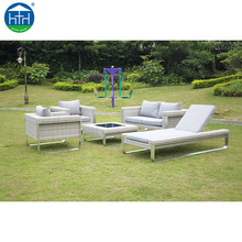 Attitude Factory High End KD Outdoor Furniture Patio Manufacture Rattan Garden Lounge Sofa