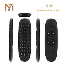 Original C120 android Air Mouse,3D motion stick wireless ir remote control, air fly mouse with gyroscope sensor T10 C120