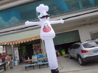 mini advertising inflatable chef air dancer man rental