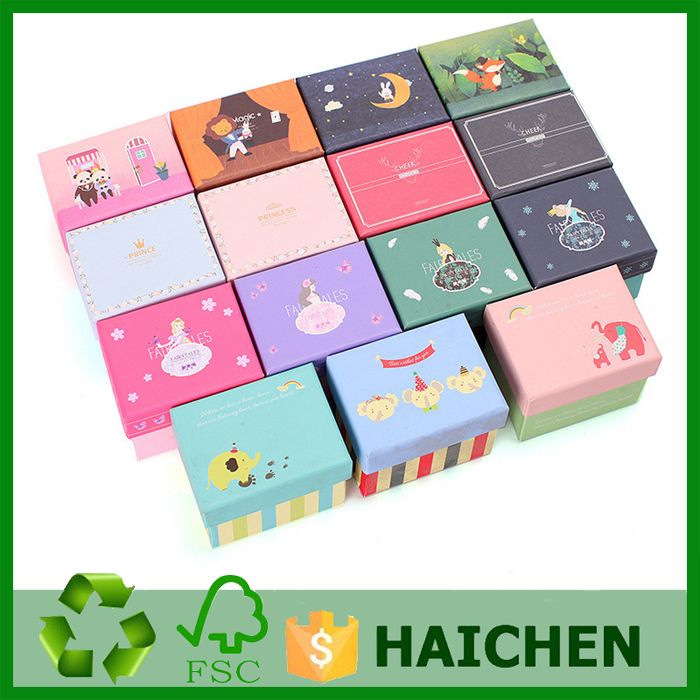 Child gift box for candy /packaging boxes with lid/printed cardboard box