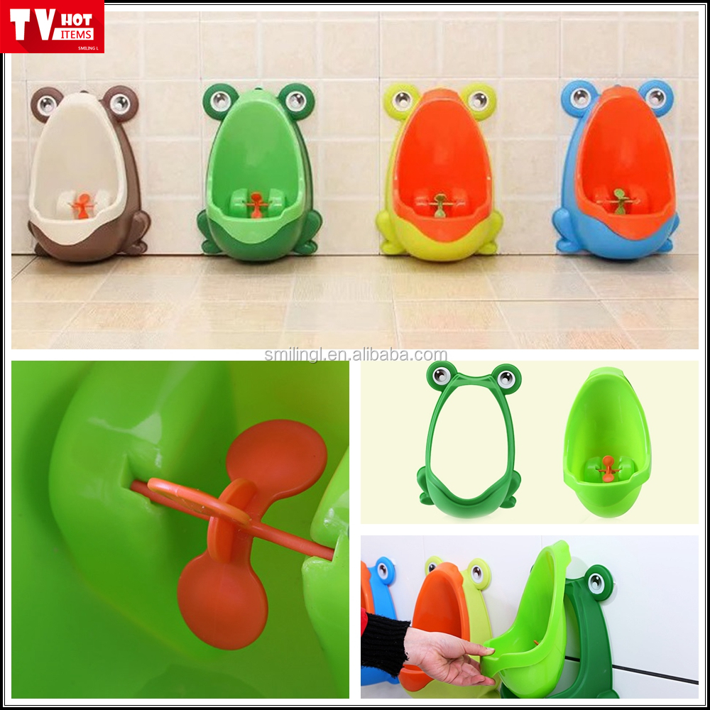 Hot selling movable plastic baby boy urinal toilet training wall mount urinal potty children urinal