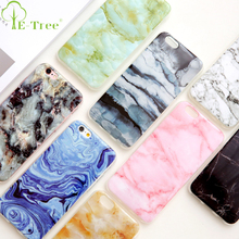 Custom Printing Case Marble Grain Beautiful Mobile Phone Cover For iPhone 7 IMD