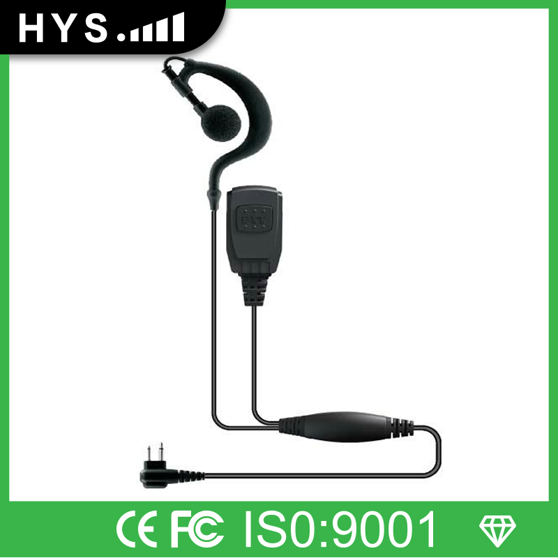 Walkie Talkie Headset System With Mic For Kenwood TK-3107