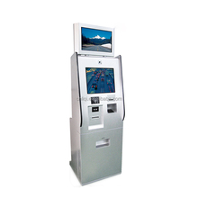 Hot Sale Self Service Interactive Payment Kiosk With Cash Dispenser