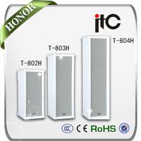 T-802H Series Upscale Public Address Waterproof Outdoor Speaker Column
