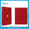2015 New Fashion Leather Flip Case Cover For iPad 5, Universal Leather Tablet Case For iPad Case(Red)