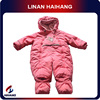 high quality wholesale warm thickening pink baby clothes manufacturer