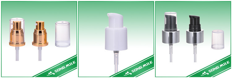 White 43mm foam soap pump for PET bottle