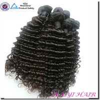 100% Unprocessed deep curly Sensual Virgin Remy Hair