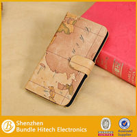 For Samsung Galaxy Note 3 Google Earth Leather Case Map Design