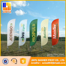 Outdoor advertising Sublimation printing banner flag/buggy whip flag