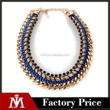 Exaggerated Antique Gold Color Chunky Chain Statement Necklace Fashion Collars Bijuterias for Women Christmas Gifts
