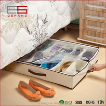 Folding Underbed Closet Storage Box For Shoes