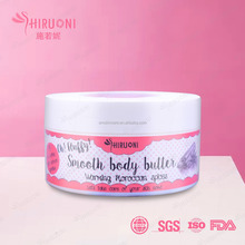 Moroccan spices smooth whitening body butter