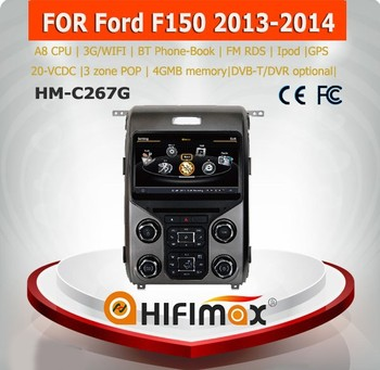 Hifimax for FORD F150 car audio player with gps With A8 Chipset S100 Platform