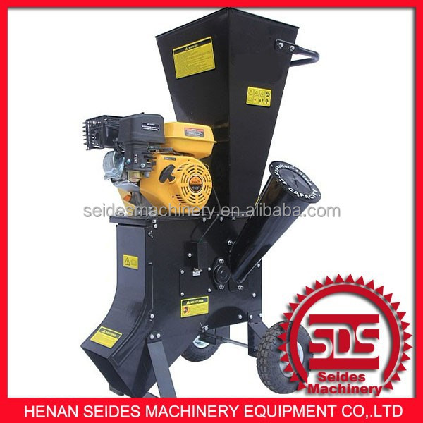 SDS Model 15 hp petrol garden chipper shredder - manual start factory