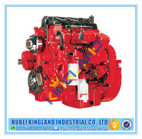 Original new ISB diesel engine assy assembly 6 cylinder 5.9L kw103/2500r/min coach bus engine ISB3.9-160E40A