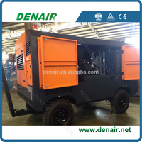 DACY-17/8 Portable Screw Air Compressor For Mine