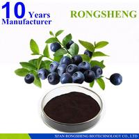 supplying bilberry extract 25 anthocyanosides anthocyanidin