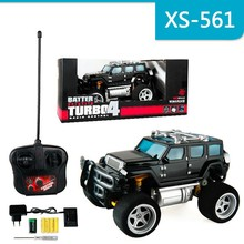 Simulation Radio Control Car With Light Off-Road Vehicles