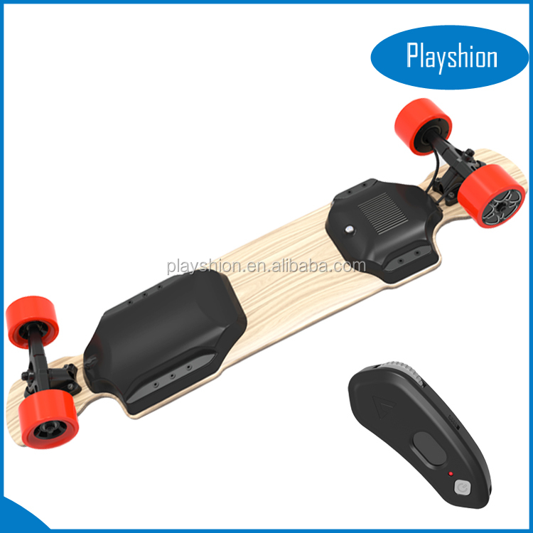 Two Motor 1200W Wheel motor Electric Board Longboard