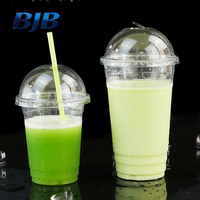 wholesale BJB china manufacturer high quality clear plastic cup for restaurants pet cup