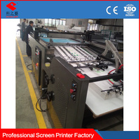 Professional Manufacturer full automatic screen printing machine for paper