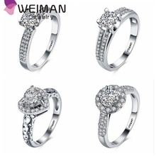 Latest wedding ring designs,hot sale Platinum Plated diamond zircon jewelry fashion cz engagement wedding ring wholesale
