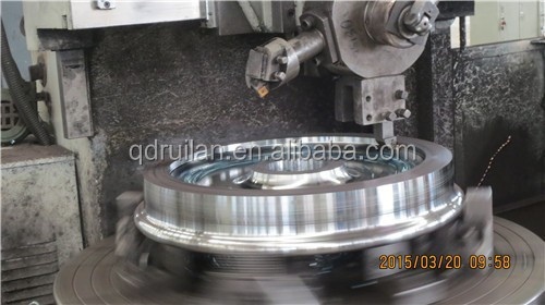 40tons railway wheel, AAR railway wheel,rough machining railway wheels,Locomotive spare parts,840mm wheel