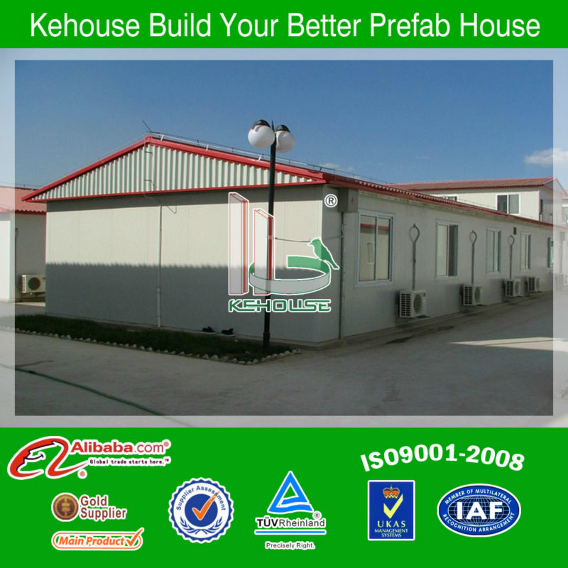 prefabricated steel sandwich panel house shed/building