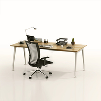 Cheap price office study office furniture table simple office table wooden computer table