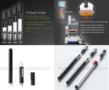 Fillable cbd atomizer cartridge disposable e-cigarette vaporizer free samples and free shipping