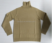 High Quality Mens Roll Neck Knitwear Cashmere Blend Turtleneck Slim Fit Knitted Sweater(LC009)