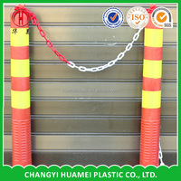 Strong plastic link chain