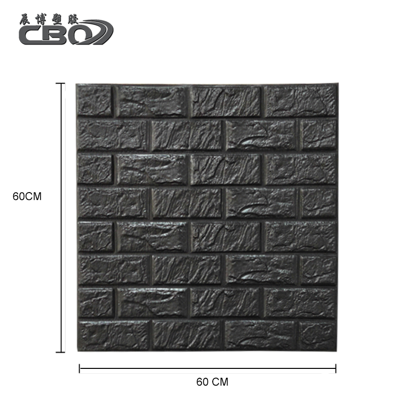Eco Friendly Sound-Proof Self Adhesive Pe Xpe Brick Foam Board <strong>Wall</strong>