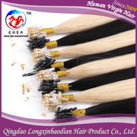 2015 Long Lasting Aaaaa Grade Human Hair China Factory Price Keratin Glue Cuticle Remy Micro Bonding Hair Extension