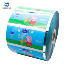 Customized foil food grade plastic film roll for Ketchup