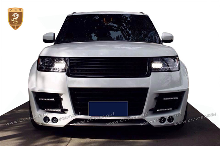 On promotion lm style tuning body kit for land-rover vogue 2013-2016 in frp
