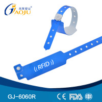 GJ-6060R Wholesale Professional Hot Selling nfc chip wristband